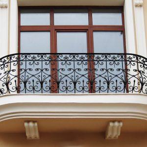 12 кованый балкон