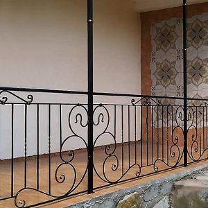 15 кованый балкон