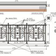 16 кованый французский балкон 4