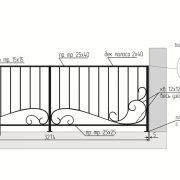 19 кованый балкон 4