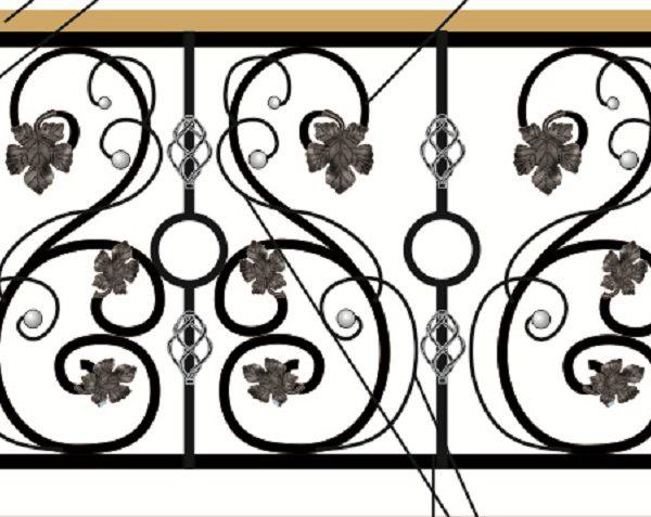 20 кованый балкон 1