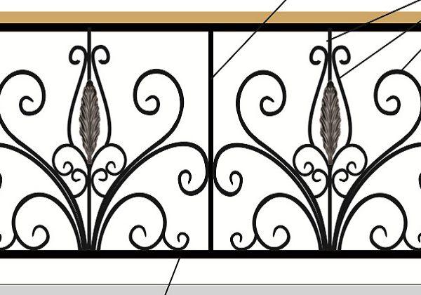 21 кованый балкон 1