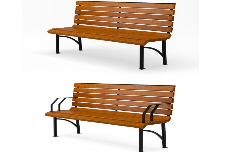 Разборные парковые скамейки и их преимущества